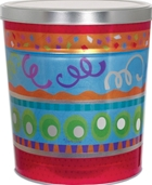 *6 1/2 Gallon Festive Can