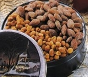 2-Way Nuts Honey Roasted Peanuts/Honey Cinnamon Almonds