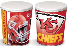 *3 1/4 Gallon Kansas City Chiefs